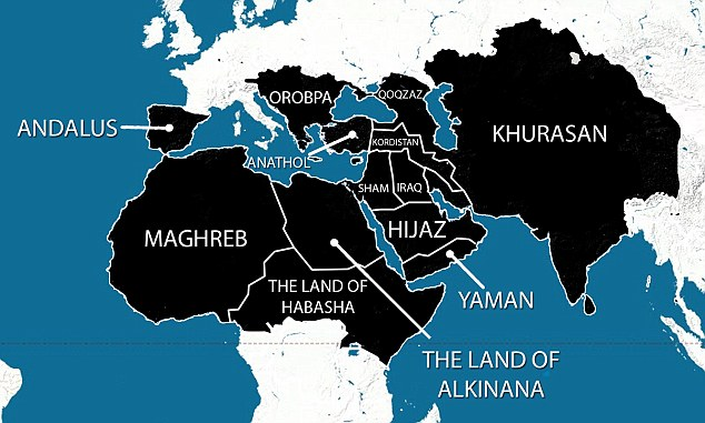 Ако виждате и вашата държава включена в картата на ислямския халифат и се чудите какво означава това, прочетете следващите редове.
