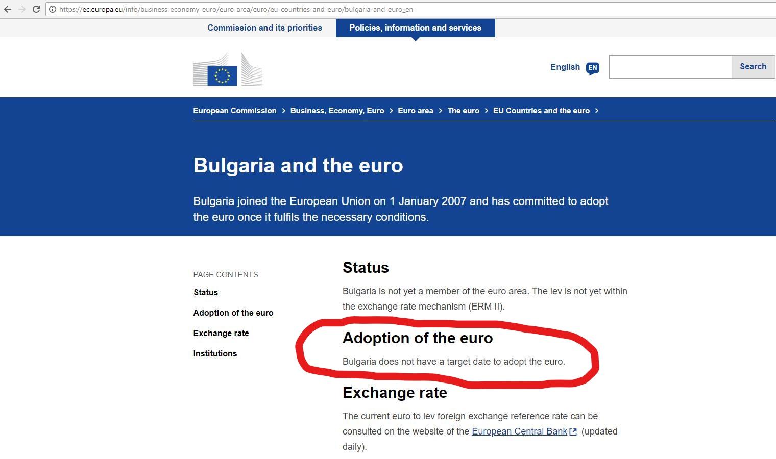 """Референдумът срещу приемането на еврото в България уплаши българския """"елит"""""""